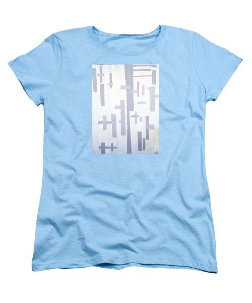 Shades Of Gray Women's T-Shirt (Standard Cut) by Karen Nicholson