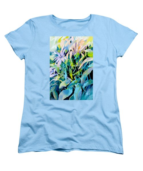 Shadowed Delight Women's T-Shirt (Standard Cut) by Rae Andrews