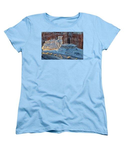Shadows At Coal Mine Canyon Women's T-Shirt (Standard Cut) by Tom Kelly