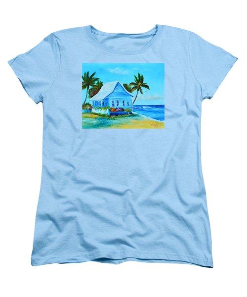 Shanty In Jamaica Women's T-Shirt (Standard Cut) by Lloyd Dobson