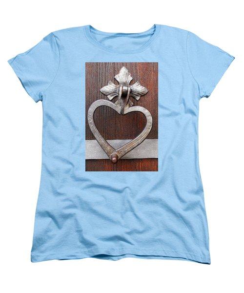 Women's T-Shirt (Standard Cut) featuring the photograph Shape Of My Heart by Juergen Weiss
