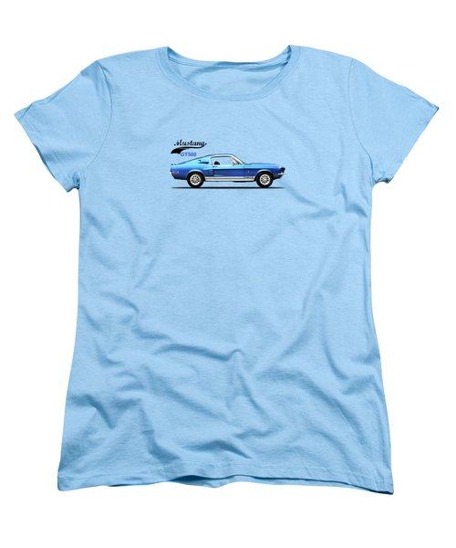 Shelby Mustang Gt500 1968 Women's T-Shirt (Standard Cut) by Mark Rogan