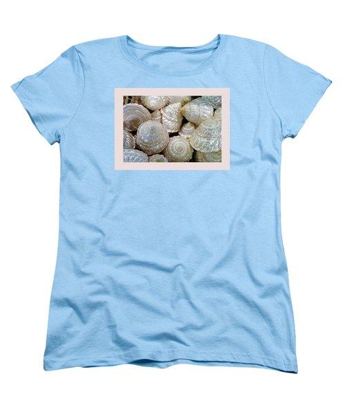 Shells - 4 Women's T-Shirt (Standard Cut) by Carla Parris