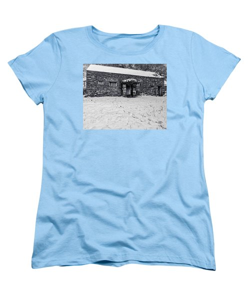 Shepherds Cottage Women's T-Shirt (Standard Cut) by Keith Elliott