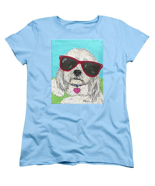 Shih Tzu Diva Women's T-Shirt (Standard Fit)