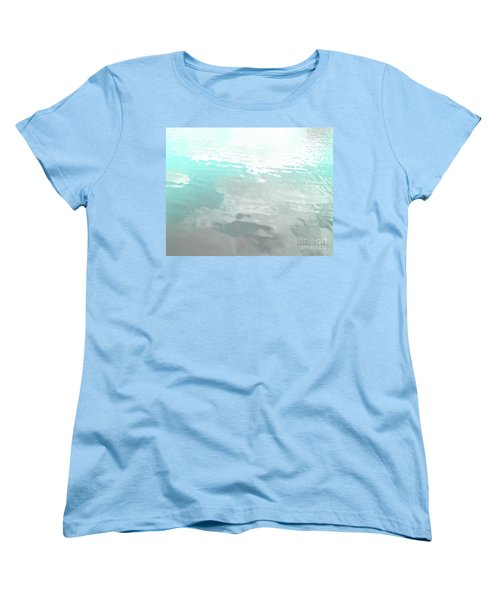 Let The Water Wash Over You. Women's T-Shirt (Standard Cut) by Rebecca Harman