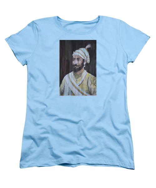 Shivaji Maharaj Women's T-Shirt (Standard Cut) by Vikram Singh