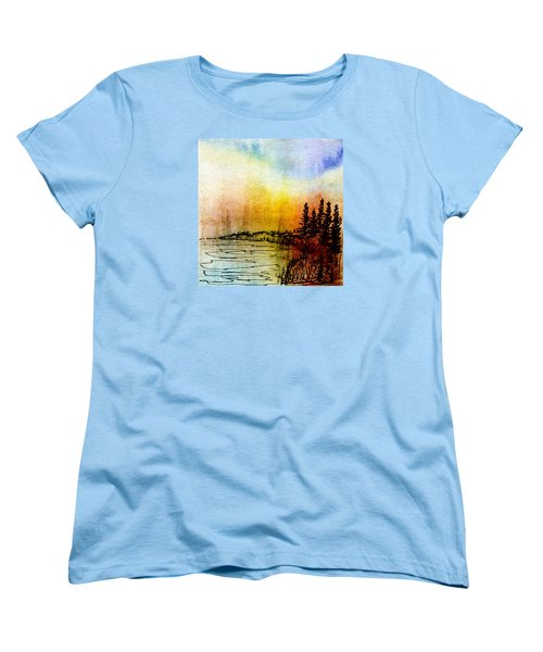 Shoreline Women's T-Shirt (Standard Cut) by R Kyllo