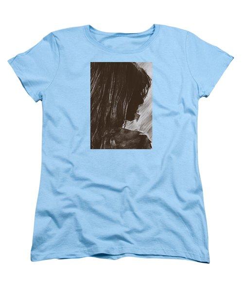 Women's T-Shirt (Standard Cut) featuring the digital art Sienna by Galen Valle