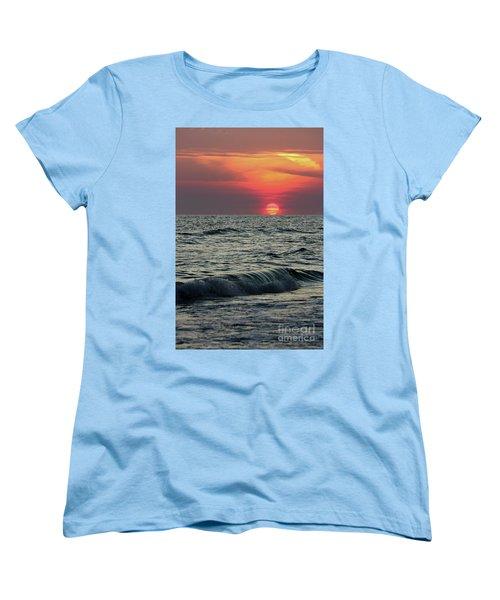 Siesta Key Sunset Women's T-Shirt (Standard Cut) by Terri Mills