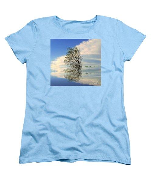 Silence Women's T-Shirt (Standard Cut) by Elfriede Fulda