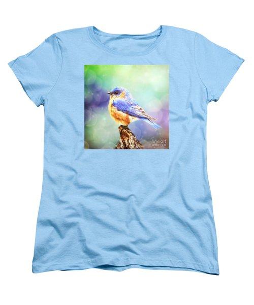 Silent Reverie Women's T-Shirt (Standard Cut) by Tina LeCour