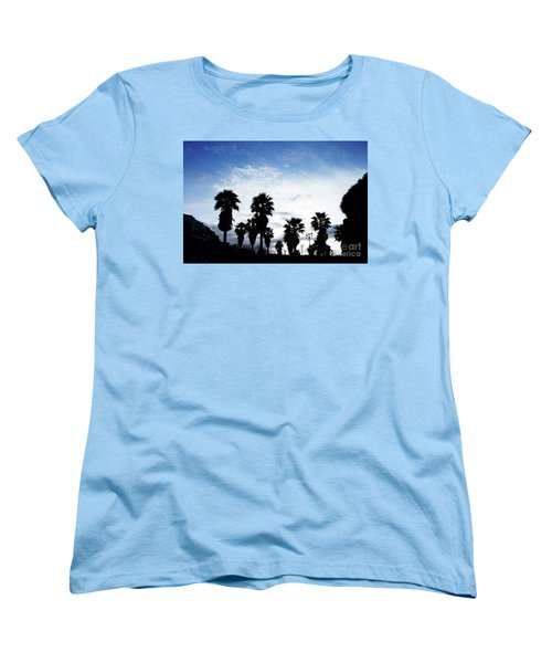 Silhouette In Tropea Women's T-Shirt (Standard Cut) by Ana Mireles