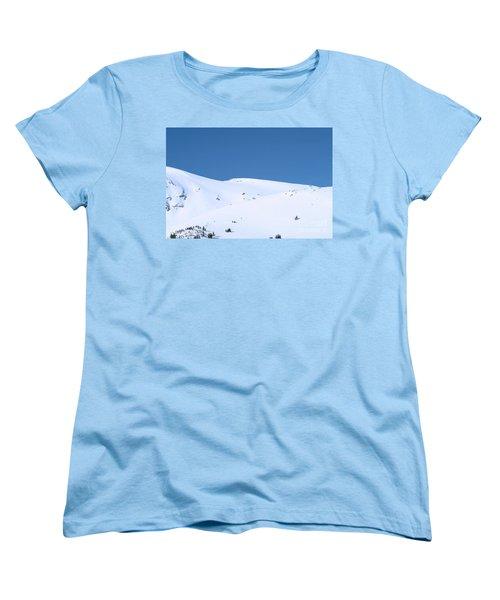 Women's T-Shirt (Standard Cut) featuring the photograph Simply Winter by Juli Scalzi