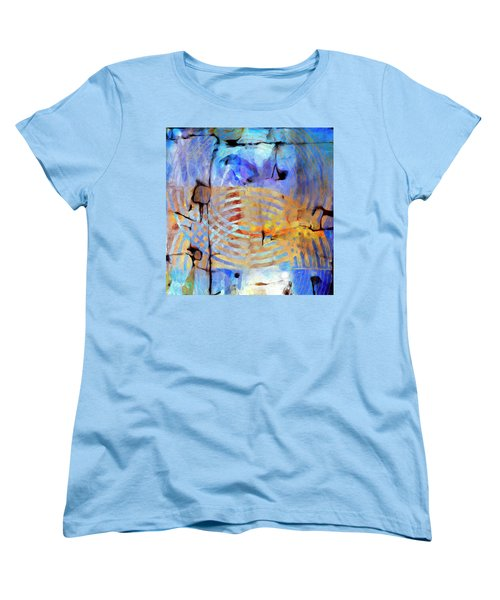 Women's T-Shirt (Standard Cut) featuring the painting Singularity by Dominic Piperata