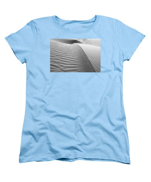 Skn 1414 The Rhythmic Demarcations Women's T-Shirt (Standard Cut) by Sunil Kapadia