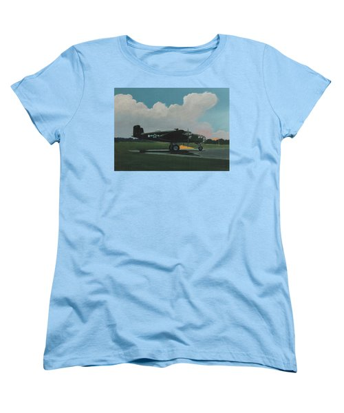 Skunky Women's T-Shirt (Standard Cut) by Blue Sky