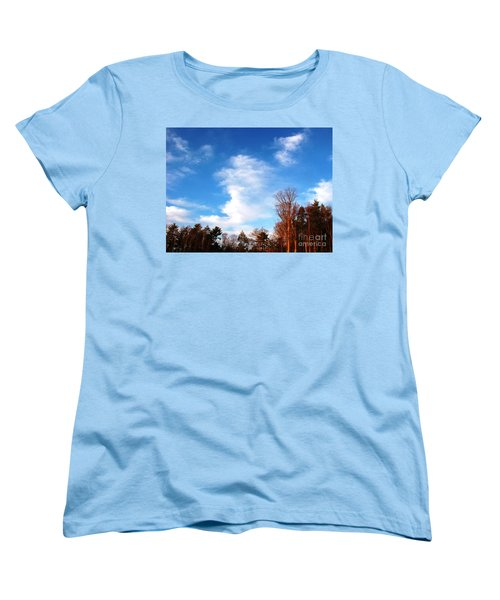 Sky Study 1 3/11/16 Women's T-Shirt (Standard Cut) by Melissa Stoudt