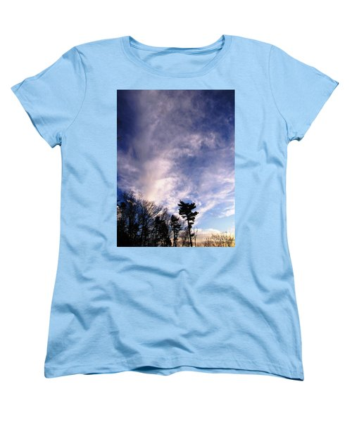 Sky Study 2 3/11/16 Women's T-Shirt (Standard Cut) by Melissa Stoudt