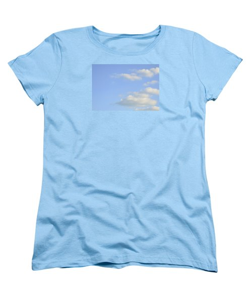 Sky Women's T-Shirt (Standard Cut) by Wanda Krack