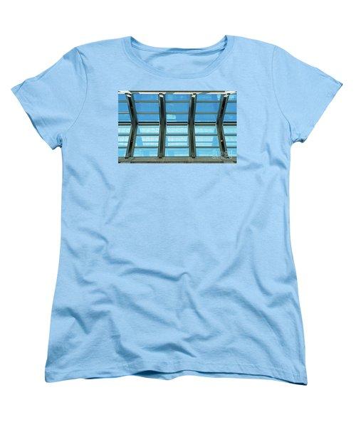 Women's T-Shirt (Standard Cut) featuring the photograph Skylight.. by Nina Stavlund