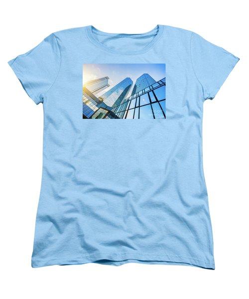 Skyscrapers Women's T-Shirt (Standard Cut) by JR Photography