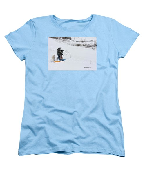 Sledding Women's T-Shirt (Standard Cut)