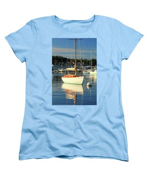 Sloop Reflections Women's T-Shirt (Standard Cut) by Roupen  Baker