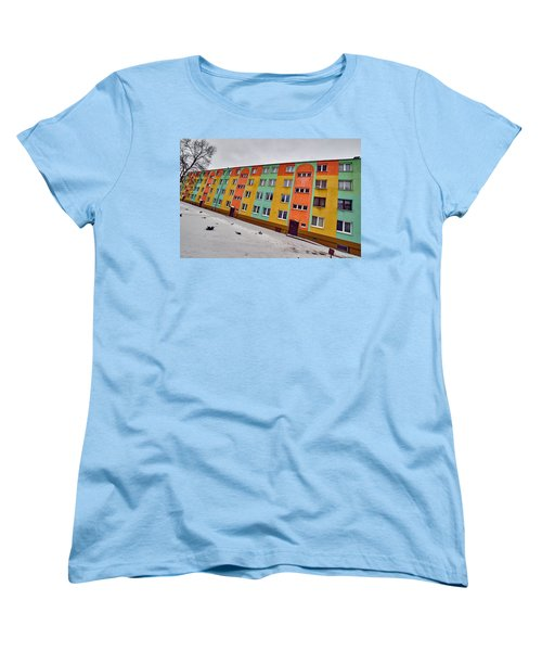 Slope Women's T-Shirt (Standard Cut) by Tgchan