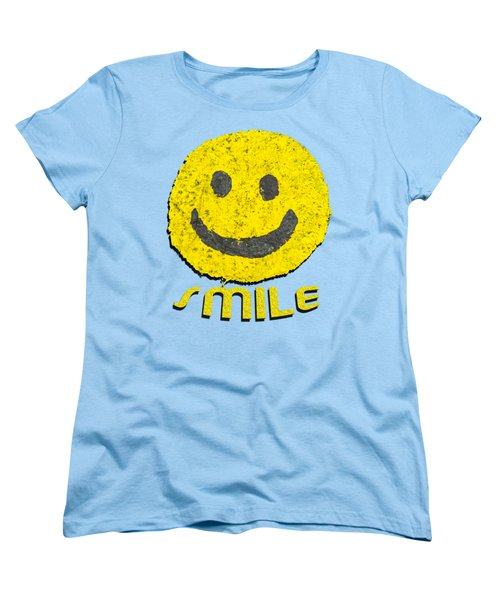 Smile Women's T-Shirt (Standard Cut) by Thomas Young