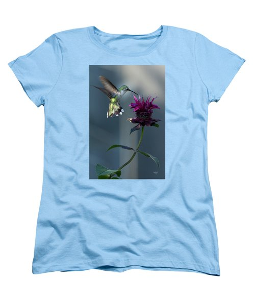 Women's T-Shirt (Standard Cut) featuring the photograph Smiles In The Garden by Everet Regal