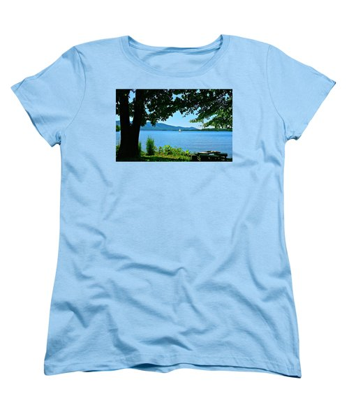 Smith Mountain Lake Sailor Women's T-Shirt (Standard Cut) by The American Shutterbug Society