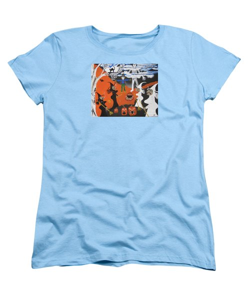 Smokey Halloween Women's T-Shirt (Standard Cut)
