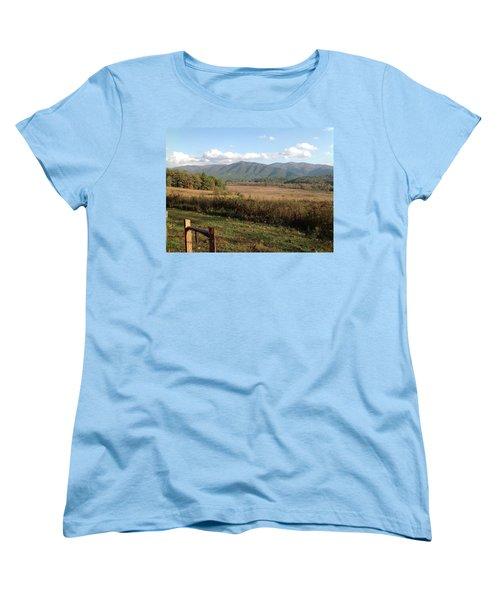Smokies 1 Women's T-Shirt (Standard Cut) by Val Oconnor