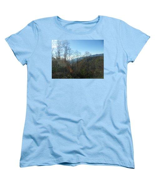 Smokies 15 Women's T-Shirt (Standard Cut) by Val Oconnor
