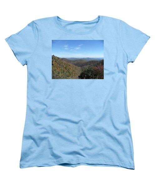 Smokies 6 Women's T-Shirt (Standard Cut) by Val Oconnor