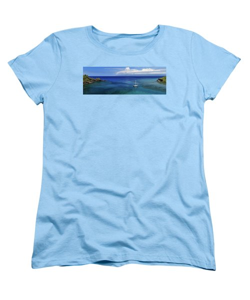 Women's T-Shirt (Standard Cut) featuring the photograph Snorkeling In Maui by James Eddy