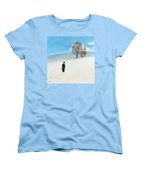 Snow Day Women's T-Shirt (Standard Cut)