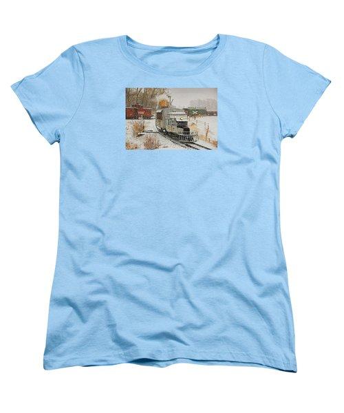 Women's T-Shirt (Standard Cut) featuring the photograph Snow Goose by Ken Smith