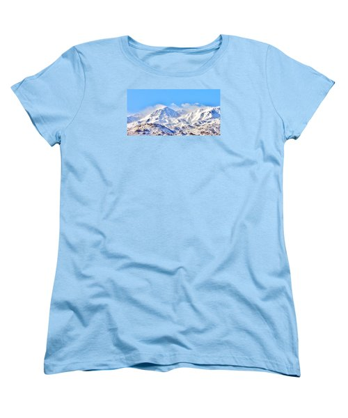 Snow Women's T-Shirt (Standard Cut) by Marilyn Diaz