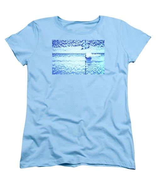 Snow Van 51 Chevy Panel Women's T-Shirt (Standard Cut) by Laurie Stewart