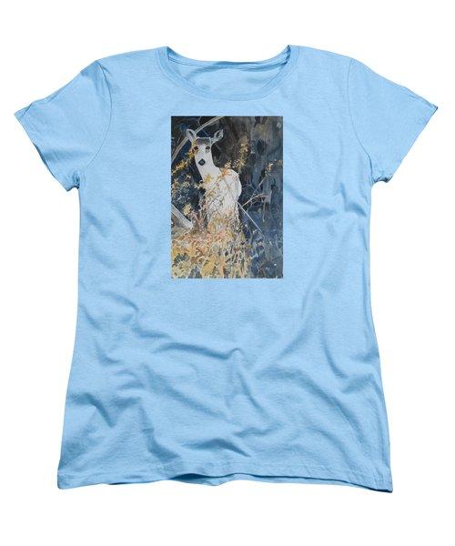 Snow White Women's T-Shirt (Standard Cut) by Christine Lathrop