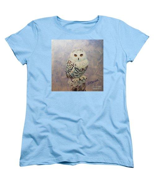 Snowy Owl Women's T-Shirt (Standard Cut)