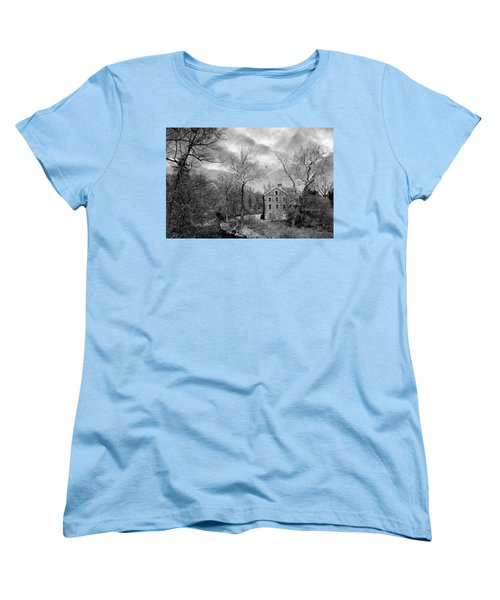 Women's T-Shirt (Standard Cut) featuring the photograph Snuff by Diana Angstadt