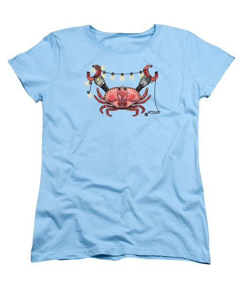So Crabby Chic Women's T-Shirt (Standard Cut) by Kelly Jade King
