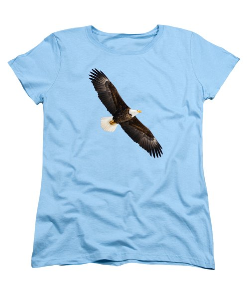 Soaring Eagle Women's T-Shirt (Standard Cut) by Greg Norrell