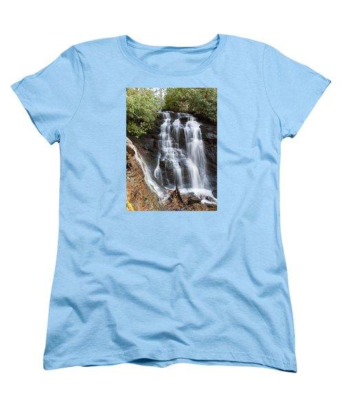 Women's T-Shirt (Standard Cut) featuring the photograph Soco Falls by Craig T Burgwardt