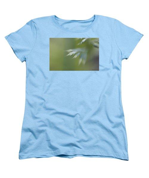 Soft Green Women's T-Shirt (Standard Cut)