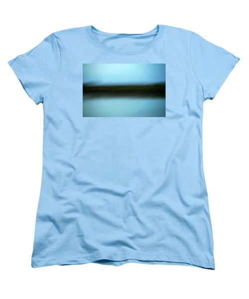 Women's T-Shirt (Standard Cut) featuring the photograph Soft Reflections by Marilyn Hunt