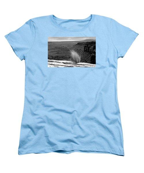 Solitude Women's T-Shirt (Standard Cut) by Alex Galkin